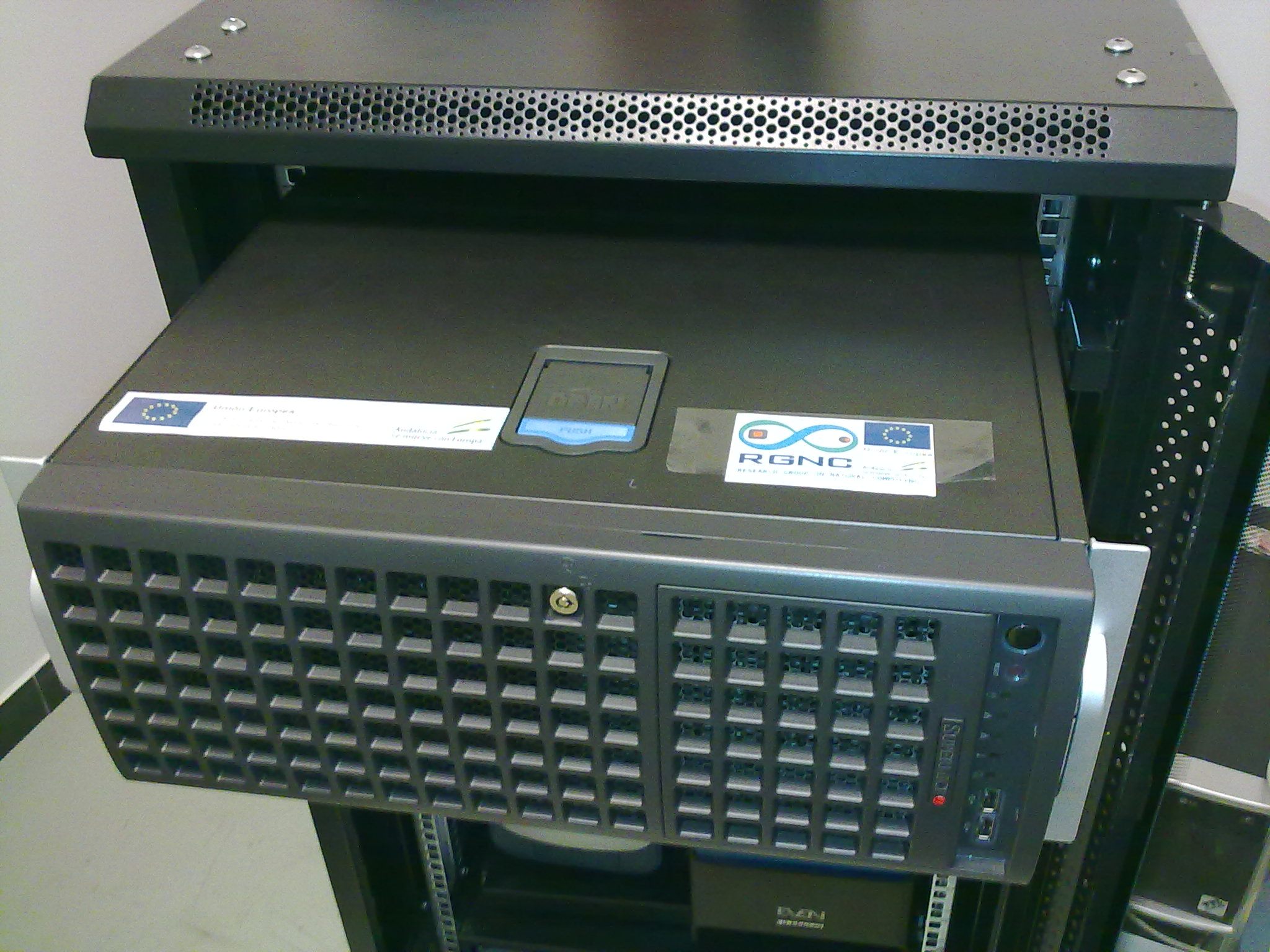 GPU server at RGNC